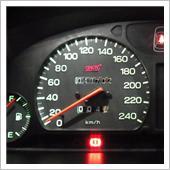 STI 240km/hメーター