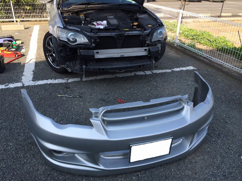 B4 Applied-D FRONT BUMPER FRP LX SPORT レガシィ イングス