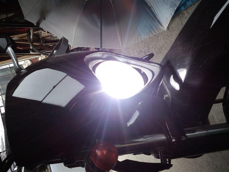 トリッカー中華製 55w HIDライトの単体画像