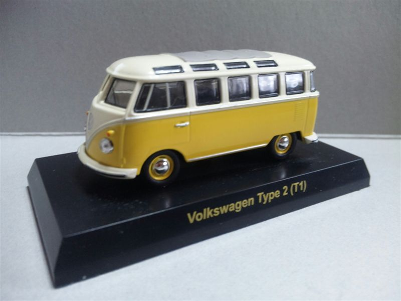 1/64 Volkswagen SERIES Minicar Collection Type 2 T1 (YELLOW)