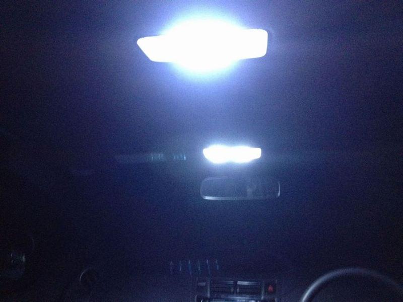 リファレンス LEDルームランプ 56発 NCP91用
