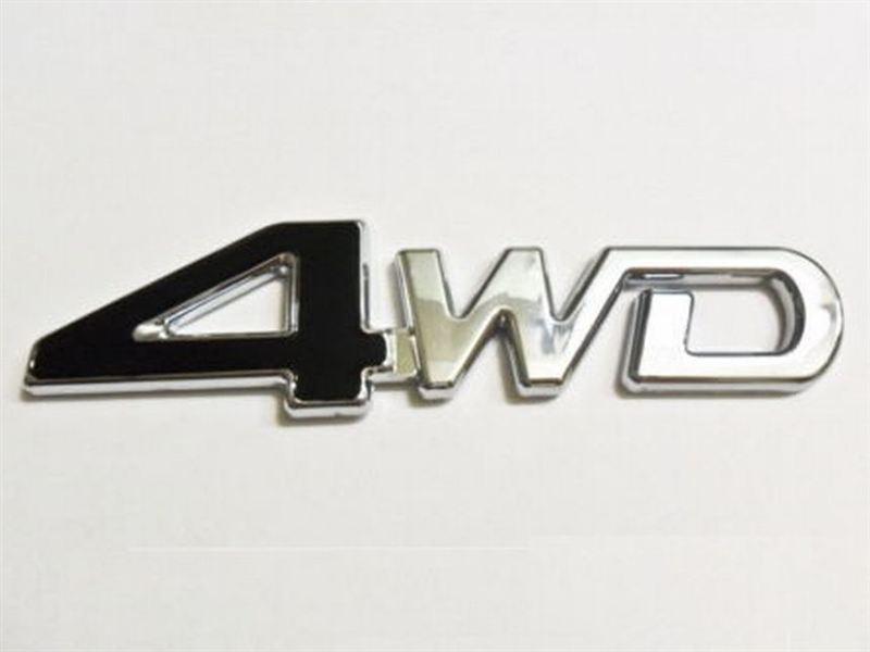 中華製 4WD エンブレム