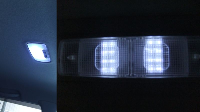 某オク フィット 専用設計 GD3 FLUX/LED ルームランプ 40発 3点set