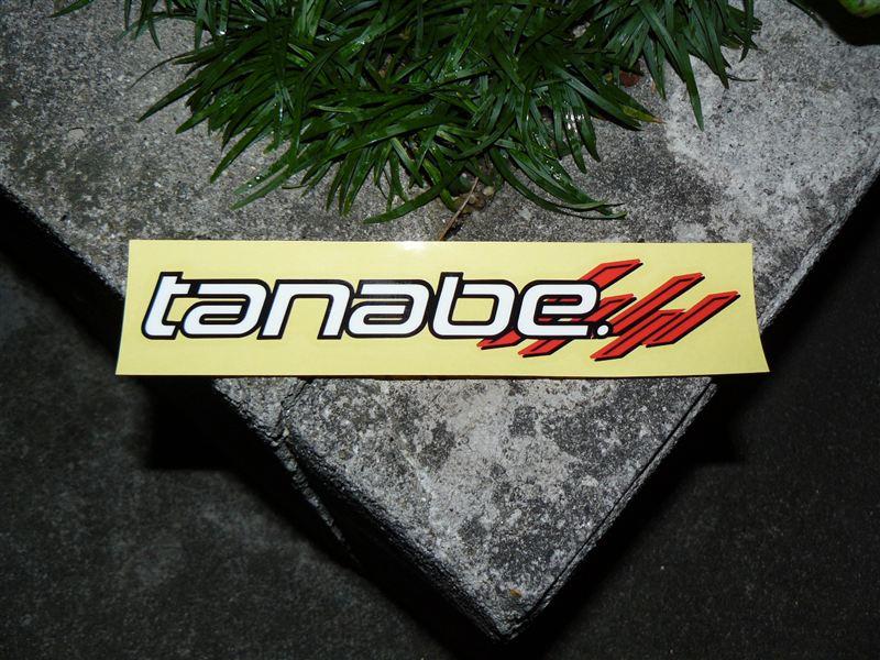 TANABE tanabe NEW (ステッカー)