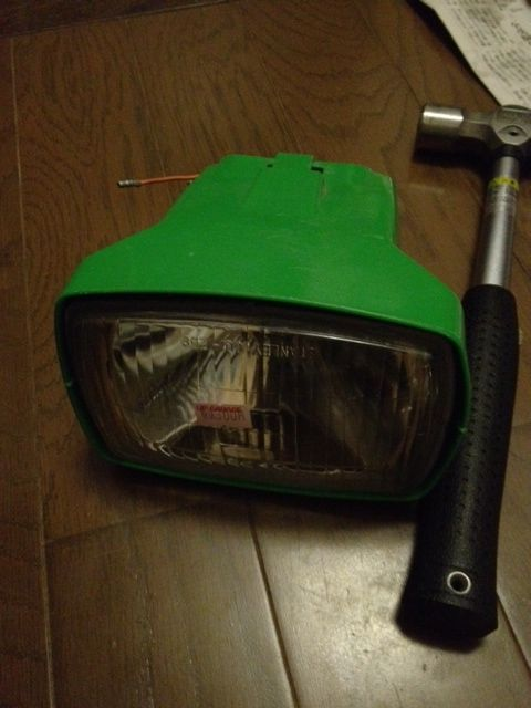 RZ50不明 ヘッドライトの単体画像