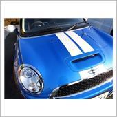MINI純正 スポーツ・ストライプ・エンジンフード/トランクセット