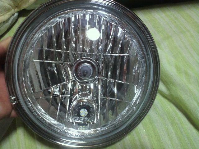 750RSIPF+PMC+不明 マルチリフレクターヘッドライト+リム+ポジション球の単体画像