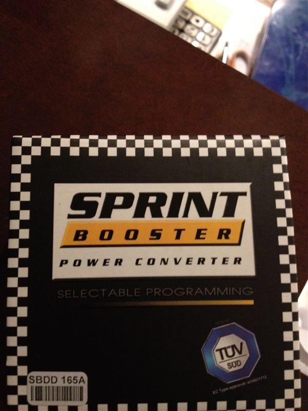 SPRINT BOOSTER Sprint Booster