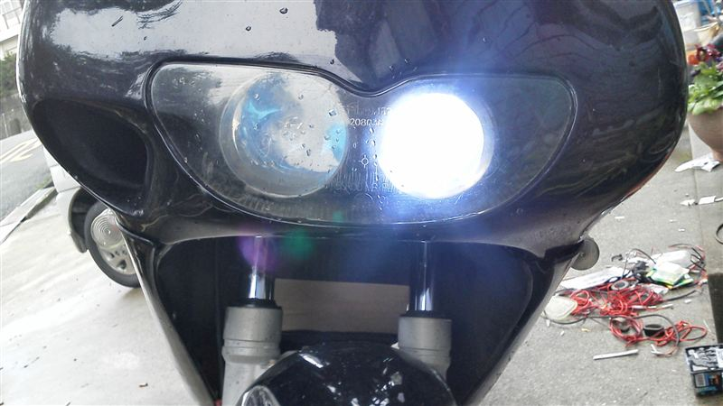 RS50アプリリア アプリリア純正 RS250前期 ヘッドライトassyの単体画像