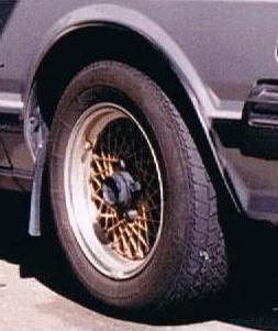 ブルーバードワゴンRAYS VOLK RACING ボルクメッシュの単体画像
