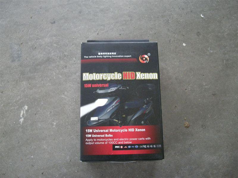 ビーノ不明(某オク購入品) バイク用HIDキット 15W H4/PH7/8の単体画像