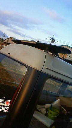 アトレーNISSAN S13シルビア純正ウイングの単体画像