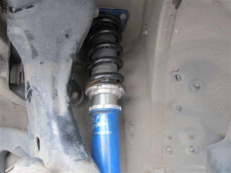 インフイニティQ45グランドスラムジャンクション フルタップ車高調の単体画像