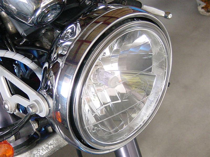 グース250RAYBRIG / スタンレー電気 マルチリフレクターヘッドランプ クリアの単体画像