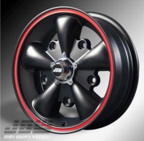 356JBW 5spoke wheelの単体画像