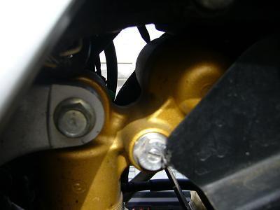 SV400KAWASAKI  ZX10-R純正リアサスの単体画像