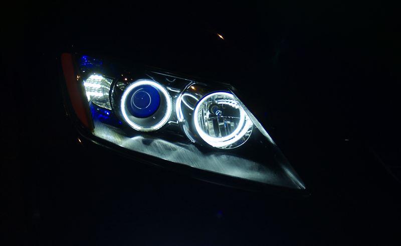 CX-7球屋 オリジナルヘッドライトの単体画像