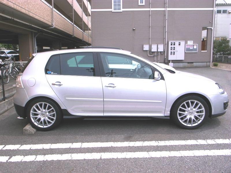 VW純正 エアロフラップ(フロント・サイド)