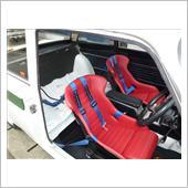 LES-LESTON レーシングバケットシートS700 特注色