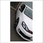 VW純正(フォルクスワーゲン) サテンブラックミラーカバー