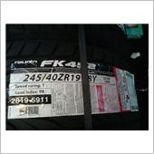 ファルケン FK452 245/40R 19