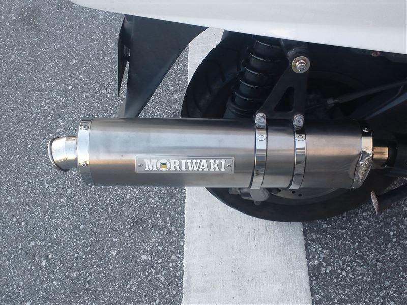 シルバーウイング<400>ABSMORIWAKI モリワキ マフラー ZERO TD WT S/O の単体画像