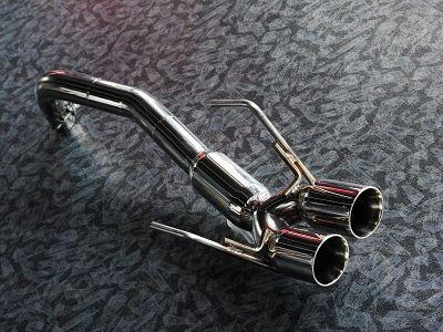 フィアット500 C (カブリオレ)TEZZO スポーツマフラー(for FIAT 500 TwinAir)の単体画像