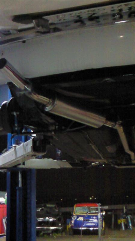 その他BL製チタンマフラ- チタンマフラ-の単体画像