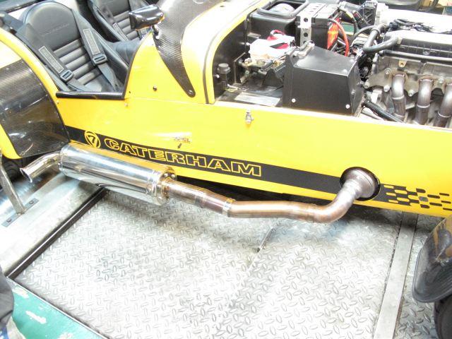 スーパーライトCATERHAM R300 VS R500 R500 Side exhaustの単体画像