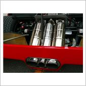 tubi style F40 not catalyst car exhaust