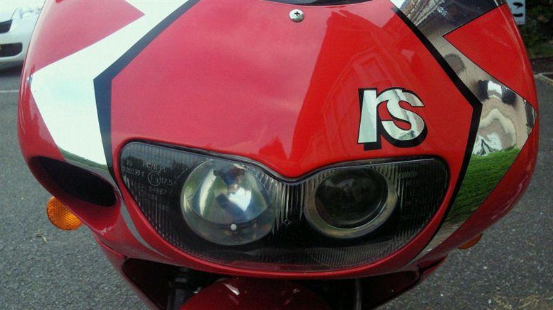 RS50純正 RS250(後期)ヘッドライトの単体画像