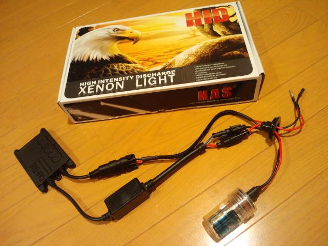 iQNAS 55W HIDコンバージョンキット H11 6000Kの単体画像