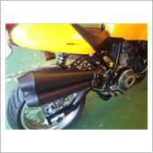 MOTO CORSE エヴォルツォーネ フルシステム φ45 Round-Taper サイレンサー マッドブラック塗装