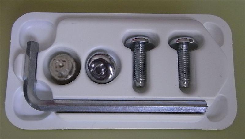 McGard ナンバープレートロックボルト