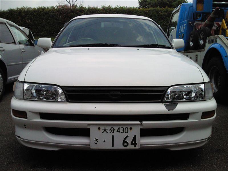 カローラバントヨタ純正 カローラワゴン後期 Gツーリング用 (非黒縁)の単体画像