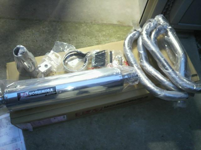 BANDIT1200 (バンディット)ヨシムラ 機械曲チタンサイクロン TS (ステンレスカバー)の単体画像