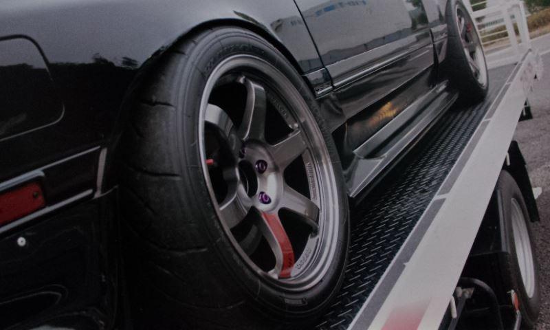 RX-7RAYS VOLK RACING TE37SLの全体画像