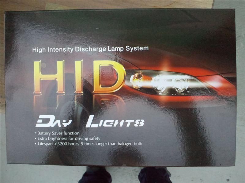 RV250iたぶん中華製? 35W HIDキット H11 6000Kの単体画像