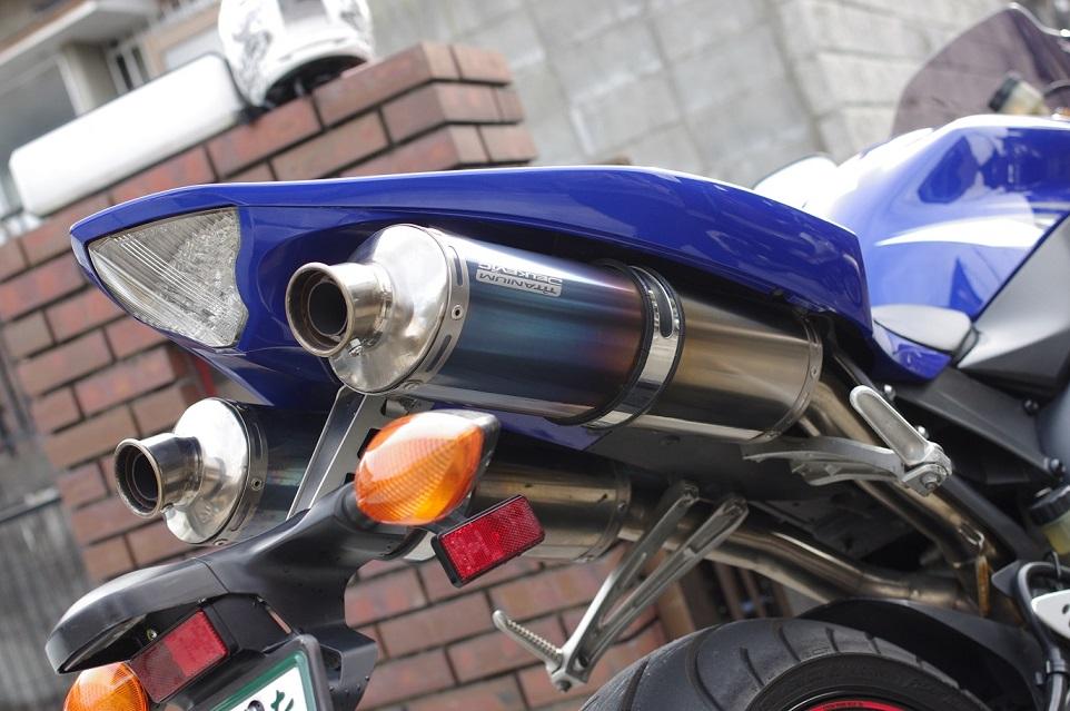 YZF-R1Delkevic (デルケヴィック) Racedesign ExhaustSystem Titanium の単体画像