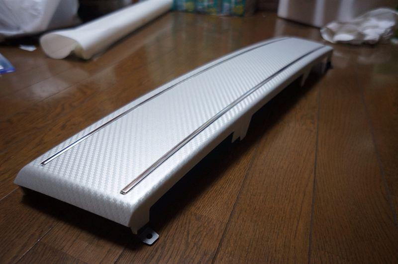 A5 カブリオレAudi純正(アウディ) USプレートフィラー(for S5)の単体画像
