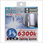 RACING GEAR POWER HID 純正交換HIDバルブ RGH-JS663