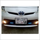 CAR MATE / カーメイト GIGA LEDフラットビーム 2 ブルー BL130