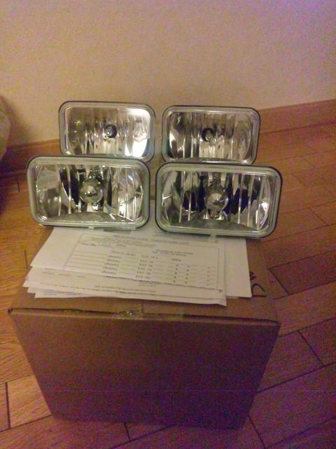 シェビーバンクリスタル ヘッドライトの単体画像