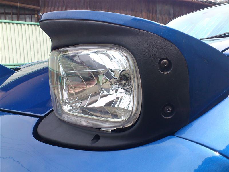 BURNOUT / ケーエスオート FD3S CLEAR REFLECTOR HID SET