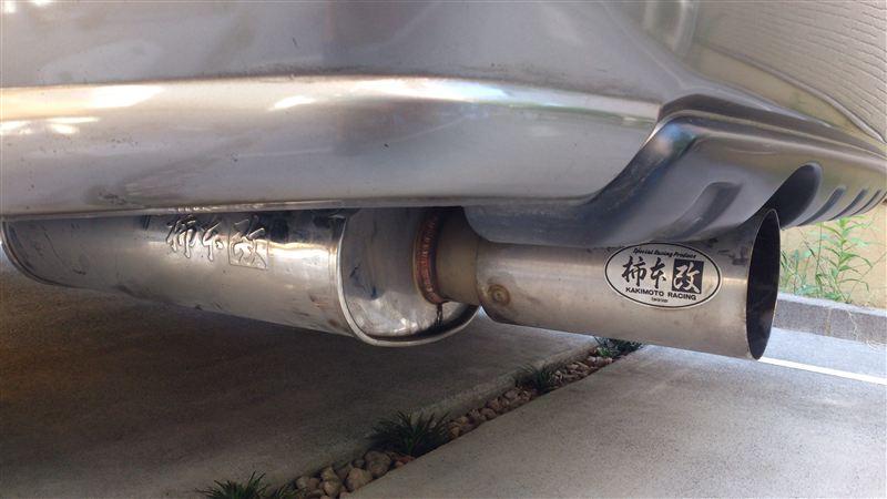 レガシィグランドワゴン柿本改 Kakimoto・Rの単体画像