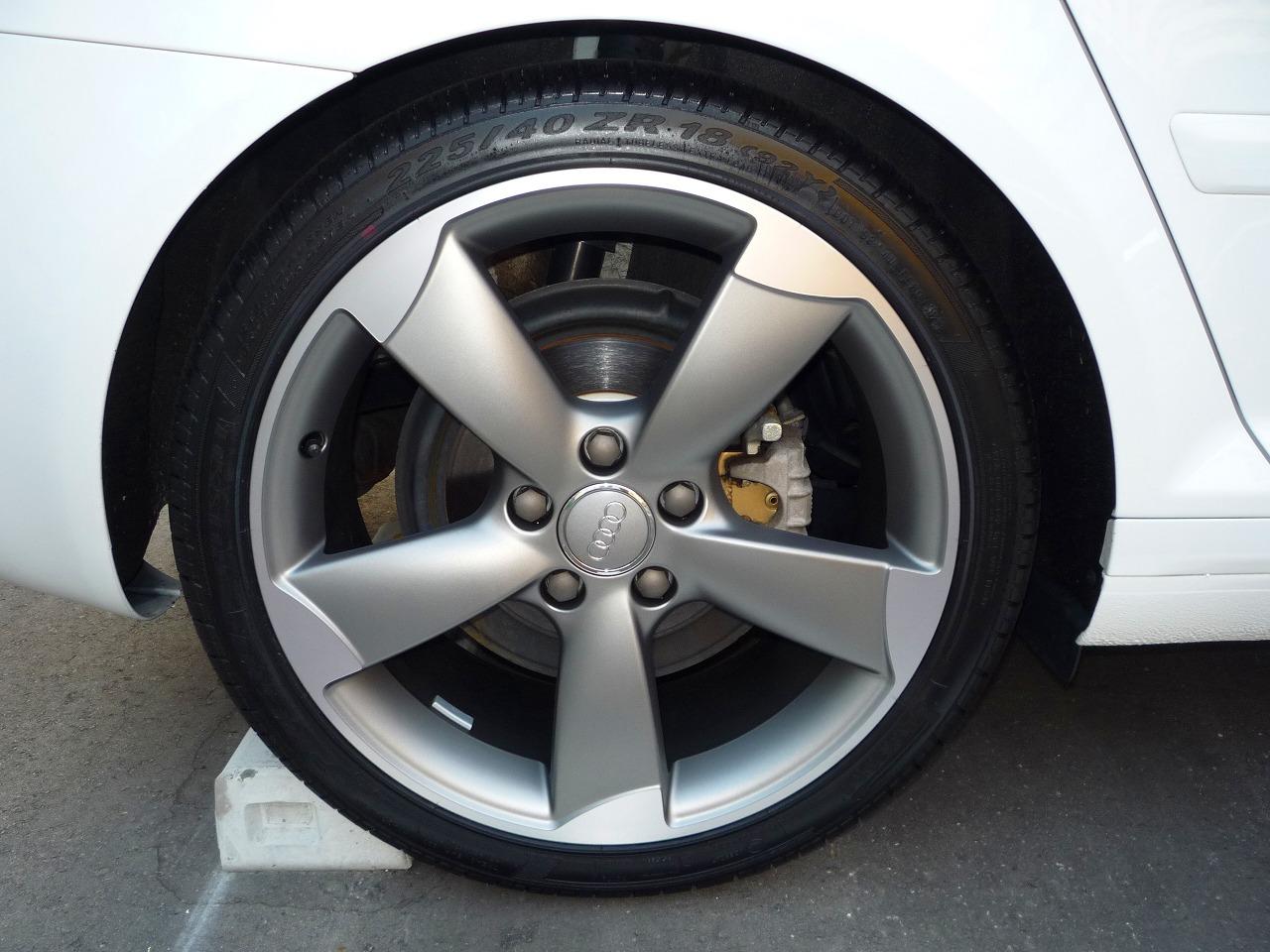 A3Audi純正(アウディ) 5 Arm Rotor Wheelの単体画像
