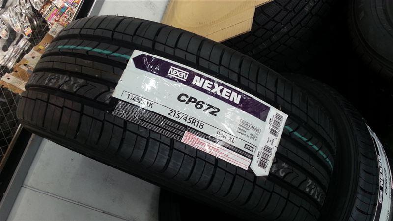 NEXEN ネクセン CP672 215/45-18