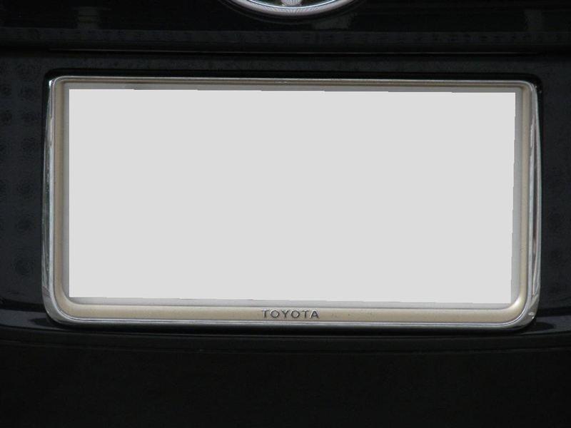 自動車メーカー純正 ナンバーフレーム(プレステージ)