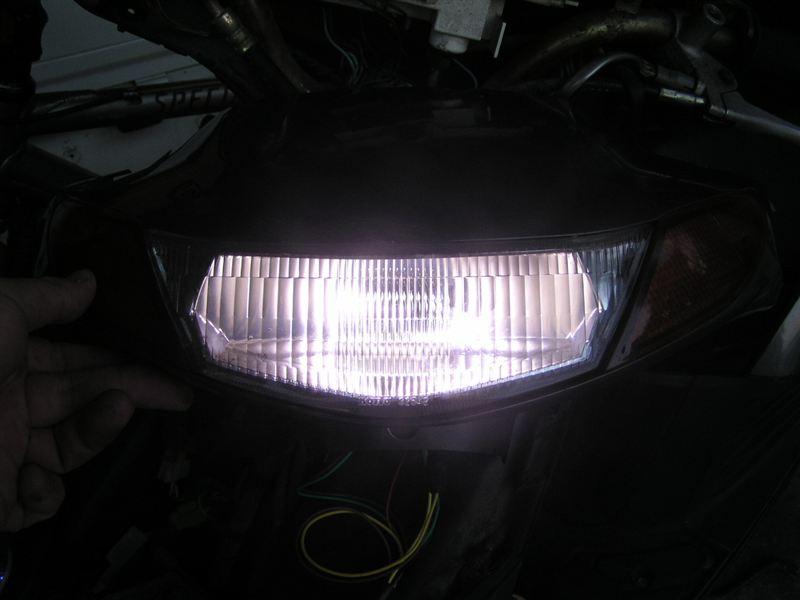 セピアサンヨーテクニカ ミニバイク用LEDヘッドライトバルブキット PH7 の単体画像