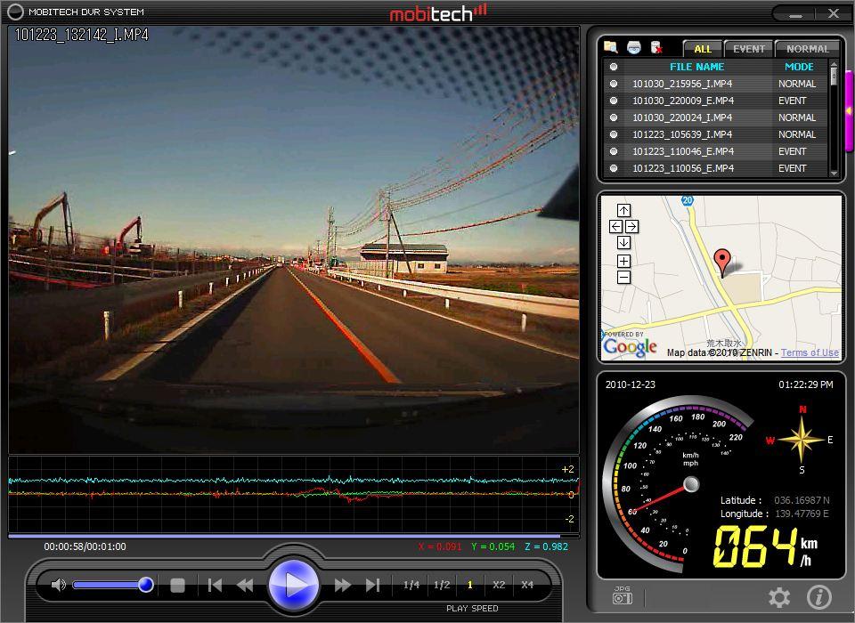 Hawk ドライブレコーダー DR-1000